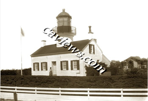 Point Pinos Lighthouse photo, Copyright© 1998 California Views