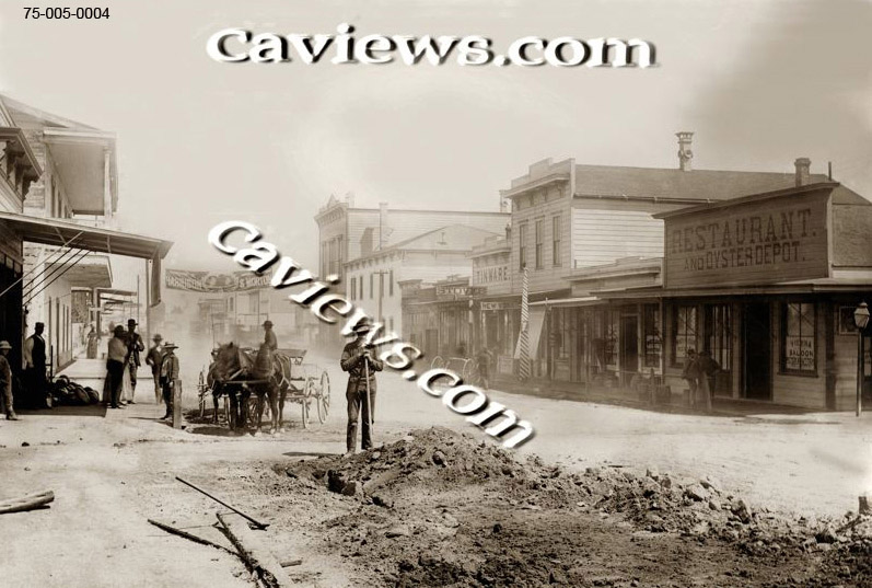 Alvarado Street, Old Monterey photo,#96-050-0007  Copyright©2017 California Views