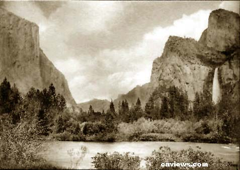 Yosemite Valley photo, By E.A. Cohen - California Views